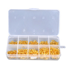 Hot 500 PCS/Lot Fishing Hook Bait Fishhook Lure Tackle With Box Size 4# 6# 8# 10# 12# Fishing Hooks Tackle Lure Fly Carp