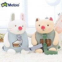 Plush Stuffed Animal Cartoon Bags Kids Doll Plush Backpack Toys Dolls Children Shoulder Bag For Kindergarten