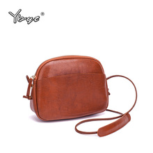 hot deal buy ybyt brand 2018 new high quality shoulder messenger crossbody bags simple shopping bag pu leather women satchel evening bags