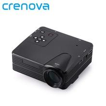 Crenova H80 Портативный Мини светодиодный ЖК-дисплей hometheater игра проектор Поддержка портативных ПК Full HD 1080 P видео с AV/ VGA/USB/SD/HDMI
