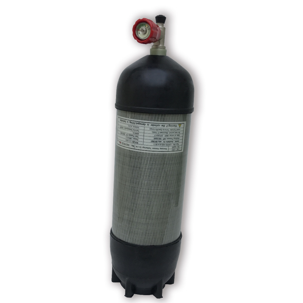 AC109111 Pcp Condor Airgun Paintball Hpa Tank 4500psi 9L Breathing Apparatus Diving Cylinder M18*1.5 For Pressure Carbine