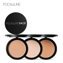 Focallure 2 Plys Fix Pressed Powder Palette Waterproof Face Contour Concealer Matt Powder Nude Compact Powder Make up Cosmetics iman cosmetics luxury pressed powder earth dark