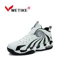 2017 Men S Professional Basketball Shoes Cushion Sports Shoes For Men Women Unisex High Ankle Sneakers