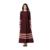 Malasia Vestido Abaya Musulmán ropa de Mujer Islámica Saudita Hechizo color de Moda vestidos largos 2017 Nueva bata turco vestidos largos