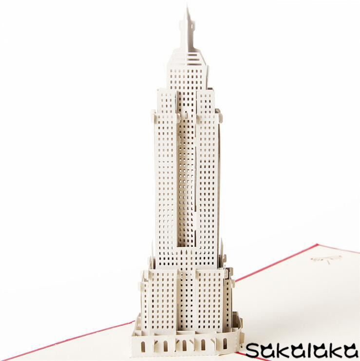 D Cut Out Empire State Building