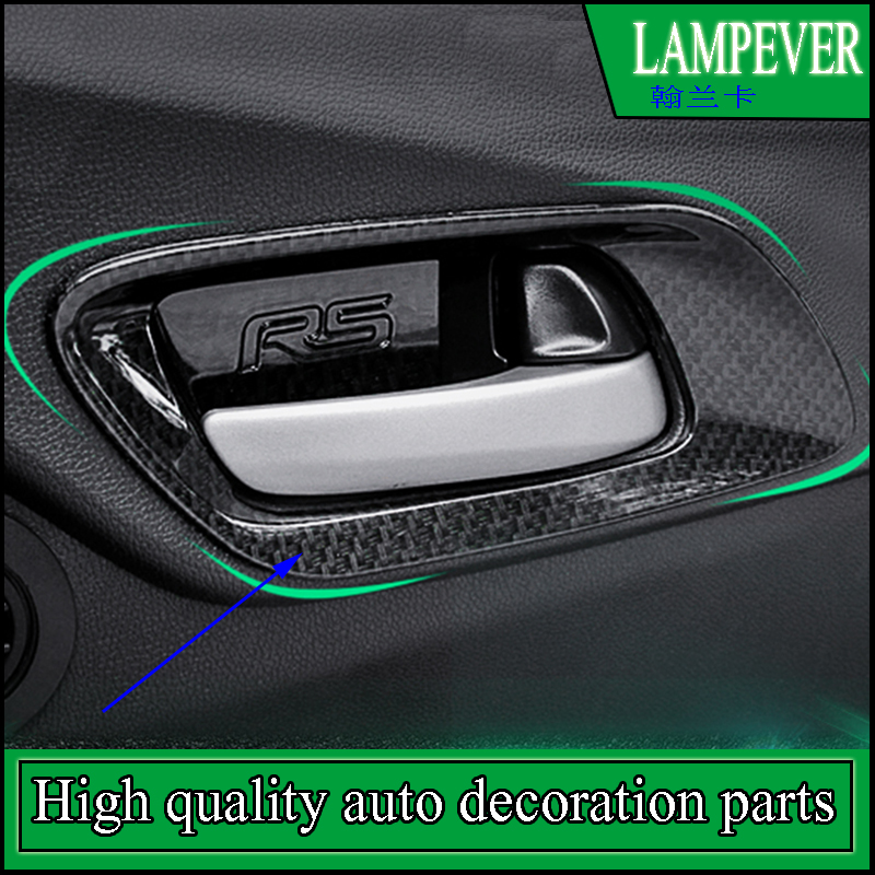Accessories For Honda Fit Jazz 2014 2016 Gk5 Inner Door Handle Bowl Frame Decorative Cover Trims