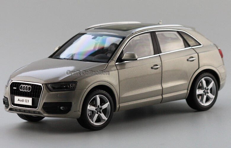* 1:18 Car Model AUDI Q3 SUV Diecast Model Classic Toys Car Replica Luxury Collections