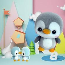 Dolls Kawaii Toys Penguin-Doll Flocking Animal-Decoration Christmas-Gift Mini for Girls