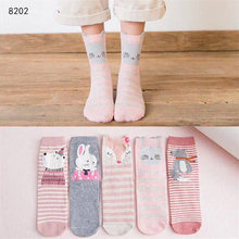 KingDeng Cute Socks Funny lovely Moomin Korean Style Fashion Design Harajuku Sock Pink Lolita Party Women streetwear Ankle