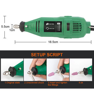 Image 5 - 110V/220V Mini Dremel Electric Drill Tools With Flexible Shaft Accessories Drill Bit Power Tools Engraver Rotary Power Tool