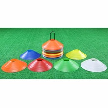 New 10pcs/lot 19cm 7.41inch Cones Marker Discs Soccer Football Training Tools Soccers Sports Entertainment Accessories Tools