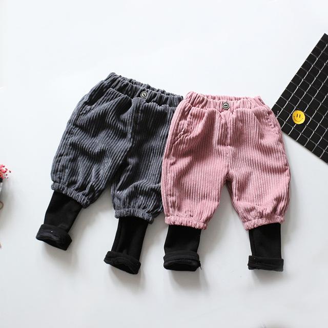 Outono novo bebê harem pants 100% calças de algodão de Boa qualidade bebê menino meninas calça casual 0-3 anos de bebê calças