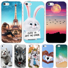 купить For Case Apple iPhone 5 5S SE Cover Silicone Funda For iPhone 5 5S Case Ultra Thin Bag For iPhone SE Case iphone5 iphone5s cases по цене 62.04 рублей