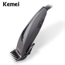 Family barber scissors electrical clipper trimmer hair cutter for grownup shaving machine haircut razor reducing KM-6358