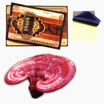 MIYUELENI New Ganoderma lucidum Orthopedic Pain Relief Patch Spine Medicated Plaster Back Muscle massage essential oil Plasters Essential Oil