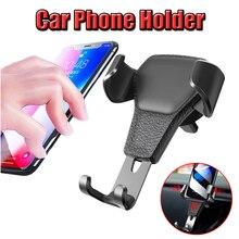 Car Phone Holder air Air Vent Mount Stand Smartphone Gravity Bracket F