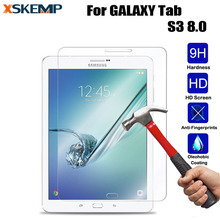 For Samsung GALAXY Tab S3 8.0 inch Ultra Clear Premium Explosion-Proof Toughened Tempered Glass No Fingerprint Screen Protector