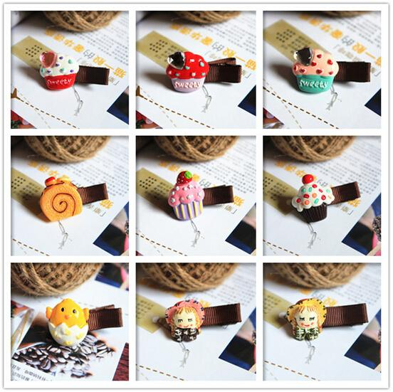 New Arrival styling tools Multi-style animal fruit hairpin headwear hair accessories for women girl children make you fashion