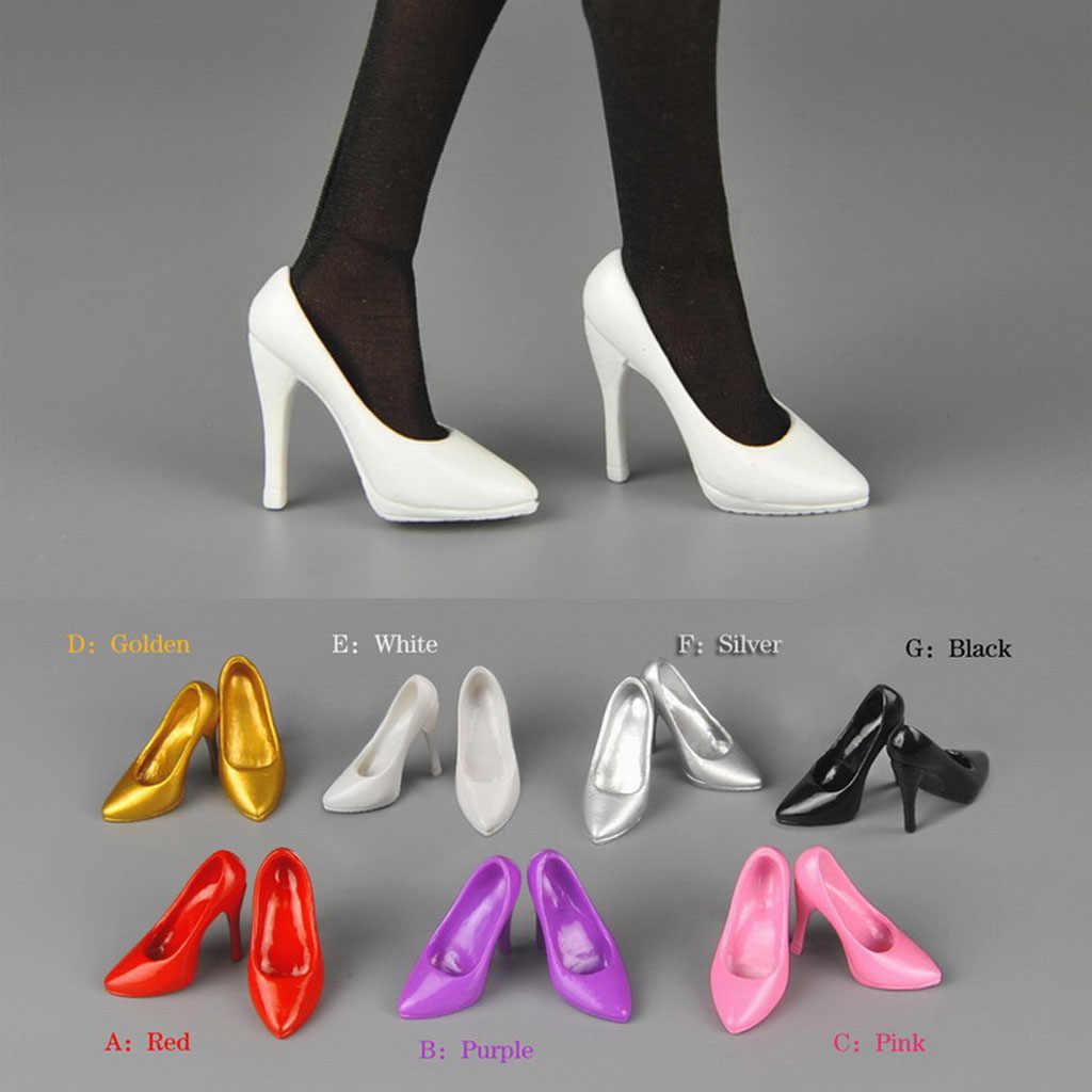 """1//6 Nero Moda Scarpe da ginnastica scarpe sportive modello per Maschio 12/"""" Action Figure Corpo"""