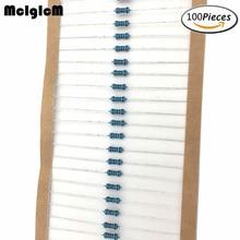 MCIGICM 100pcs 1/4W Metal film resistor resistors 47K 100K 150K 220K 0.33-2.2M ohm 100pcs 1206 47k 47k ohm 1% smd resistor