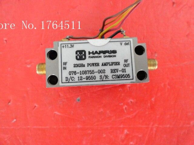 [BELLA] HARRIS 076-108755-002 23GHz 11.3V SMA Amplifier Supply