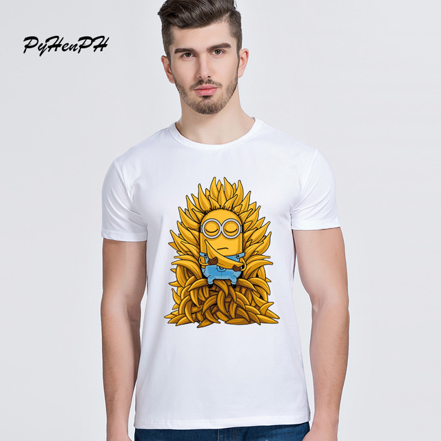 Game Of Thrones Minion Casual Fashion Short Sleeves Men's T-shirt