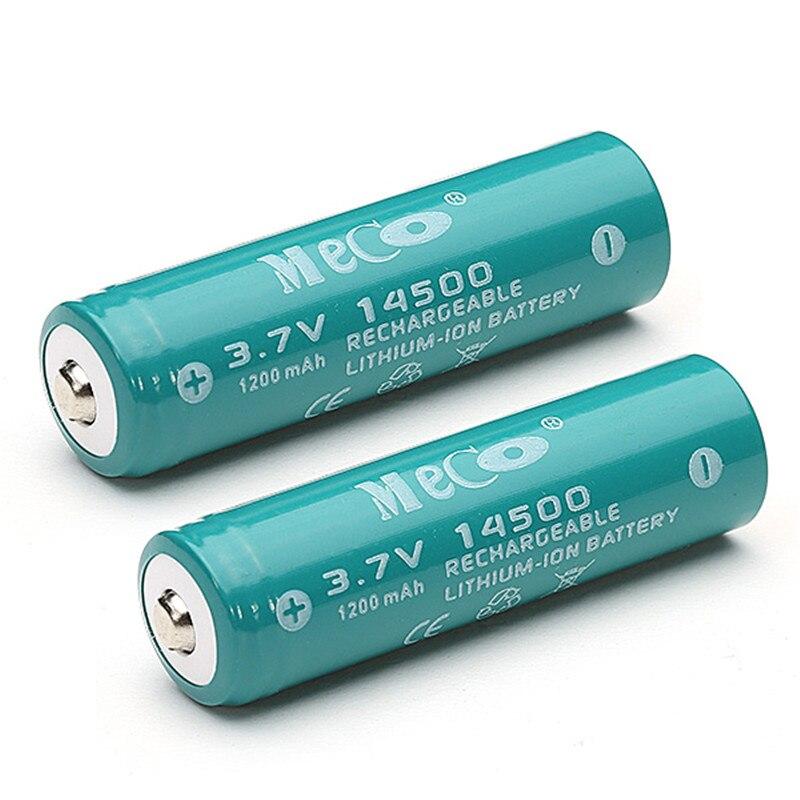 MECO 14500 1200mAh 3.7V Li-ion Battery