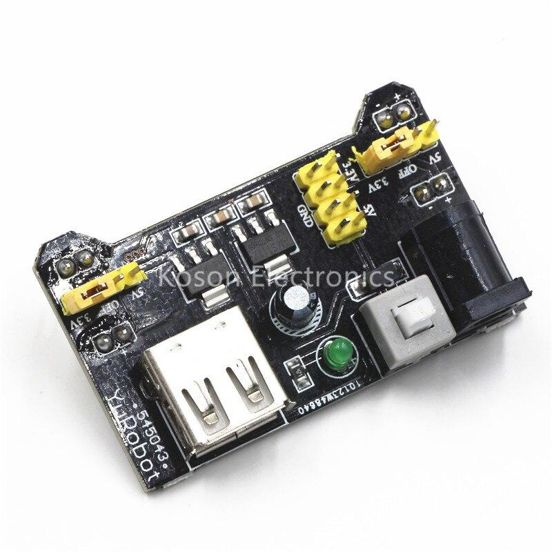 MB102 Breadboard Power Supply Module 3.3V 5V Solderless Bread Board For Arduino DIY Voltage Regulator