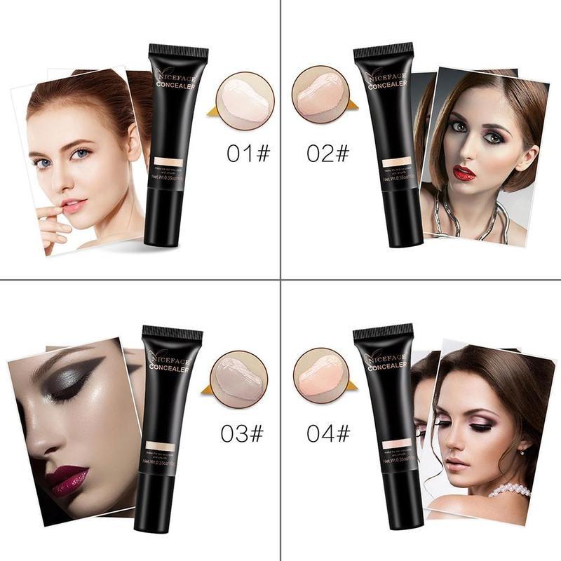 Liquid Whitening Repair Moisturizing Cface Primer Perfect Cover Camouflage Liquid Concealer Cream Oncealer Foundation Makeup