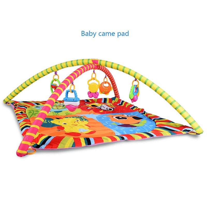 Animaux de bande dessinée éléphant cloche jouet bébé ramper tapis de Fitness bébé jouets éducatifs bébé tapis tapis de jeu (90x90x38 cm)