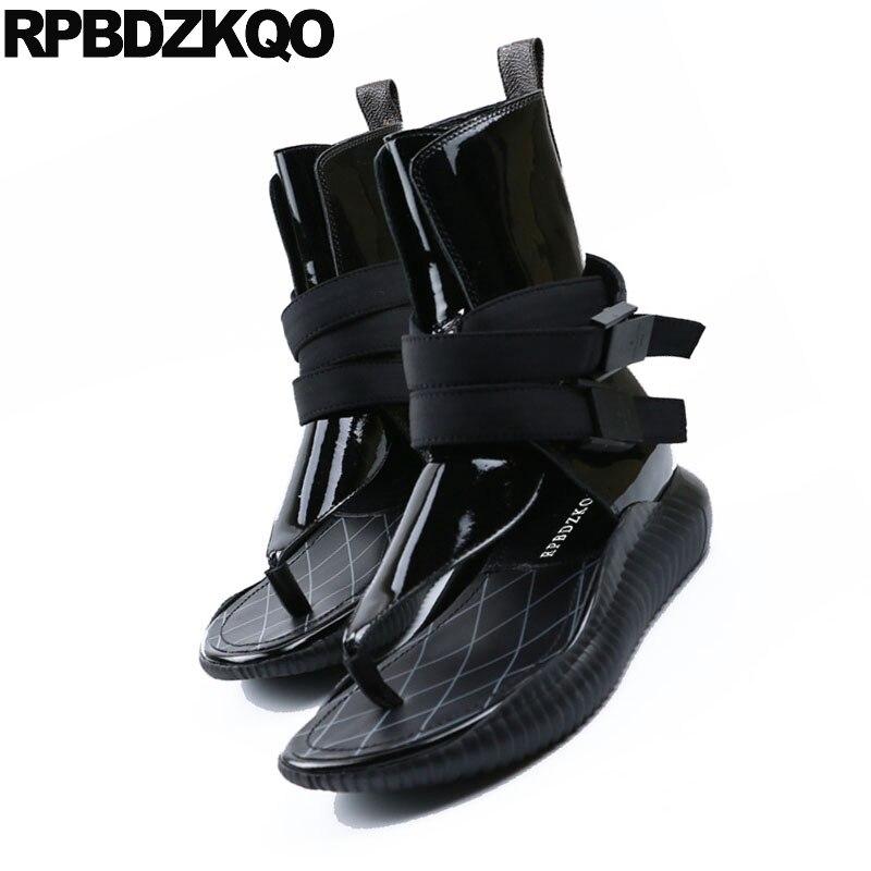 Sail Lakers/женские ботинки из натуральной кожи; Винтажные ботинки; обувь на танкетке; сезон осень зима; модная женская обувь; повседневные женск... - 3
