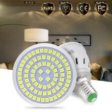 GU10 Spot Light Bulb E27 Led Corn Bulb E14 Led 220V Lamp MR16 Bombillas 48 60 80Leds Spotlight SMD 2835 Focos Lamp B22 3W 5W 7W