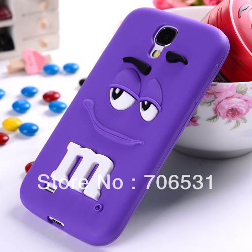 Mix Color Cute Cartoon Style Silicon Rubber Case for Samsung Galaxy S4 I9500
