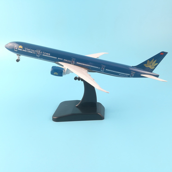 20cm Solid Alloy Aircraft Model Air Lines Vietnam Aviation Airplane Simulation Static Model W Stand Aircraft pulley landing gear 40cm a330 resin aircraft model sichuan airlines airplane model airbus airways china sichuan air aviation model stand craft a330