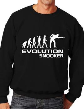 Evolution Of Snooker Player Funny Adult Sweatshirt Jumper Birthday Gift More Size and Color-E173