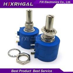 1 шт. 3590S-2-202L 3590 S 2 К Ом 3590S-2-202 3590S-202 точность многооборотный потенциометр 10 кольцо переменный резистор