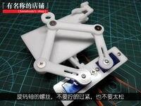 Electronic assembly kits robot diy kits DIY clock Robot KITS BASED ON ARDUINO(mechanical system)