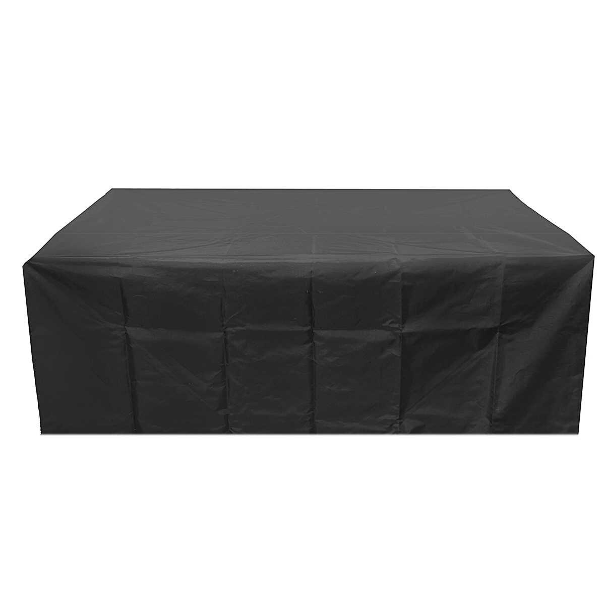 Водонепроницаемый Оксфорд сад раттен мебели Чехол очень большой стол для открытого патио диван Дождь Снег защиты пыленепроницаемые покрытия