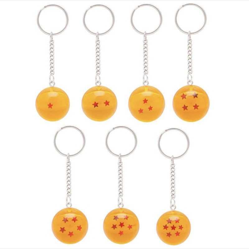 اليابان أنيمي لعبة دراغون بول نموذج شخصيات كرتونية شخصيات دراغون بول Z المفاتيح قلادة حلية عمل اللعب سلسلة المفاتيح جمع