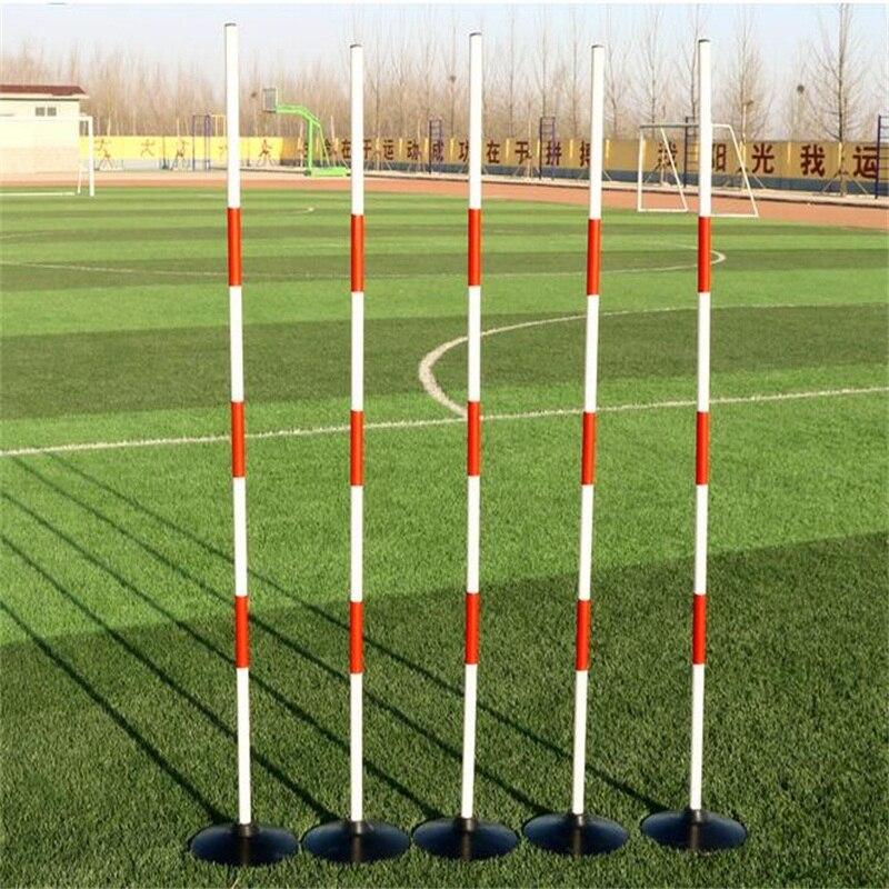 5 шт./компл. 120 см Футбол training знак палка для вождения автомобиля тренировочные стержень школа тест вертикальный стержень