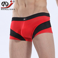 WJ Mens Underwear Boxers Brand Clothing Ropa Interior Hombre Calzoncillos Marcas Boxer Mesh Patchwork Pull In Underwear