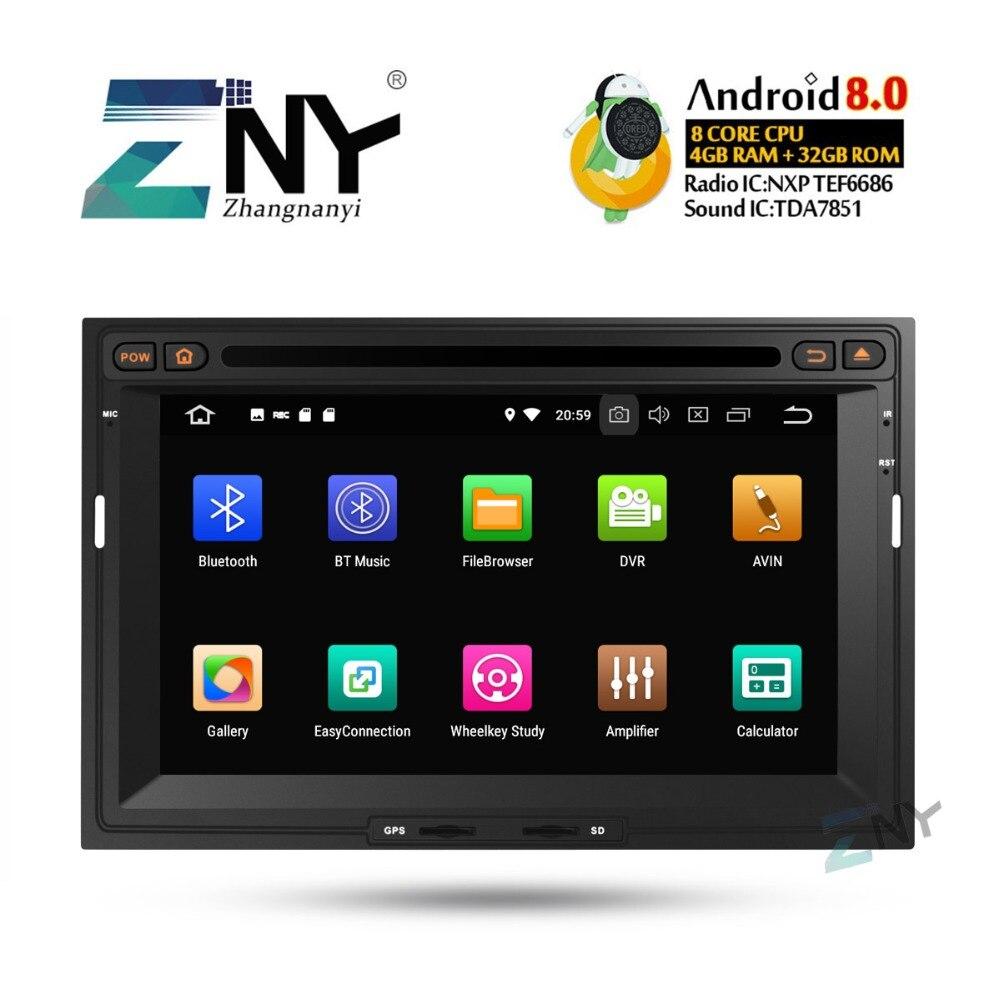 7 HD Android 8.0 DVD De Voiture Pour Citroen Berlingo Peugeot Partner Auto Radio FM RDS Stéréo GPS Navigation Audio vidéo Caméra De Recul