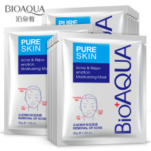 BIOAQUA Acne Treatment Skin Care Face Mask Unisex  Moisturizing Oil Control Facial Mask Makeup 1 Pcs все цены