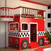 Высокое качество по индивидуальному заказу красивая детская кровать, американская кровать, противопожарная кровать из Китая