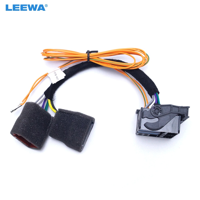 leewa car canbus adapter cable converter wire iso for vw. Black Bedroom Furniture Sets. Home Design Ideas