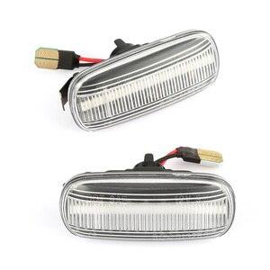 Image 2 - สำหรับAudi A6 C5 A4 B8 A3 8P S3 S4 S6 รถLEDแบบไดนามิกด้านข้างไฟเลี้ยวไฟสัญญาณblinker RepeaterรถFenderไฟ