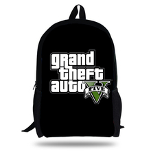 2018 Newest Backpack Grand theft auto Game Printing Children School Bags Boys Teenage Girls GTA 5 PC Casual Backpacks