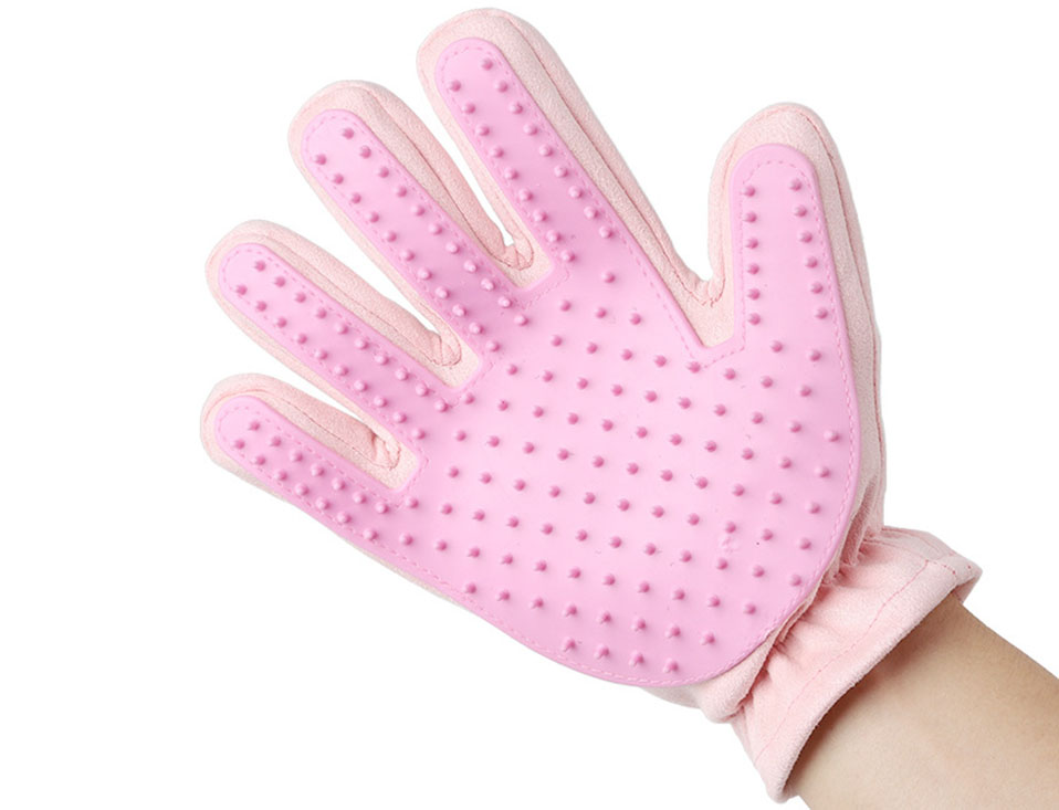 Plastic Pet Grooming Gloves For Cats Dogs Horses Brush Glove For Animal Cat Gloves Hair Comb (7)