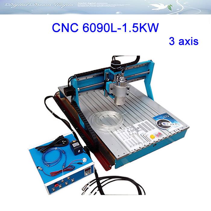 NEWEST!!!LY6090L-1.5KW 3 axis Linear Guide Rail CNC Router Engraver Drilling and Milling Machine,Russia special line,free tax!! ly cnc router 6090 l 1 5kw 4 axis linear guide rail cnc engraving machine for woodworking