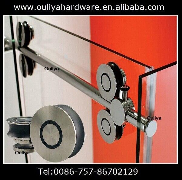 Frameless Sliding Glass Shower Door Hardware Choice Image Doors